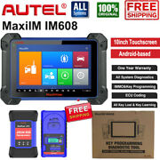 Autel Im608 All Systems Diagnostic Scanner Key Programmer Ecu Coding Adaptation