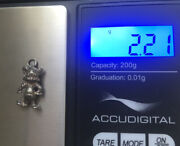 Vintage .925 Sterling Silver Charm Looney Tunes Sniffles The Mouse 2.21g