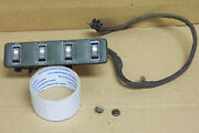 1969 And Other Mercury Cougar Xr7 Dash Metal Courtesy Light Switch Panel And Wiring