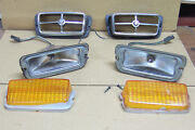 1972 1973 1974 1975 And Other Mercury Comet Gt Grille Sport Or Signal Lamps Pr Oem