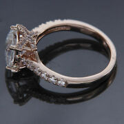 Charms 1.80ct Princess Diamond Antique Bridal Engagement Ring 14k Rose Gold Over