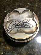 A.j. Aj Foyt Jr. Signature Auto Autograph Indy Car Piston Authentic Rare