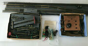 Lot Of Atlas Ho Scale Railroad Tracks Rectifier Throttle Pack Model 3 Switches