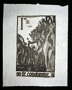 1920/1977 French Block Print The Way Of The Cross Jean Charlot 1898-1979mod1
