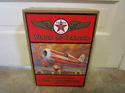 Wings Of Texaco 1930 Travel Air Mystery Ship 5th In The Series Coin Bank New