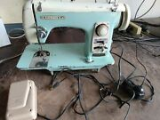 Vintage Brother Sewing Machine Model 110 Riviera For Part Or Repair
