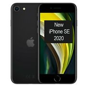 New Apple Iphone Se 2020 256gb A2296 Mxvt2b/a Black Factory Unlocked 4g/lte Gsm