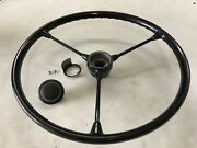 Petri Standard Volkswagen Vw 3-spoke Steering Wheel Beetle Bug Unrestored