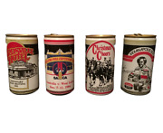 West End Beer Cans X 4 Vintage - Cricket - Motor Sport - Indy - Collectible