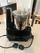 Waring Pro, Commercial Food Processor With Stainless Steel Work Bowl