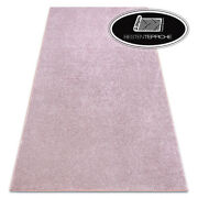 Modern Carpet Floor San Miguel Pink Smooth Thick Large Sizes Rugs On Dimensions