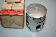 Yamaha Motorcycle Nos 1st Over Piston 1977-79 Yz80  1t0-11635 .25mm