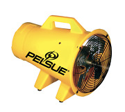 Pelsue 1325p Blower 120 Vac Hdpe Constructed 921 Cfm Thermoplastic Axial Blower