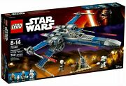 Lego 75149star Wars Resistance X-wing Fighter Poe +extra Figs