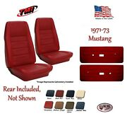 Seat Upholstery And Door Panel Set 1971 Mustang Coupe By Tmi Any Color