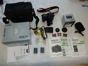 Canon Eos 10d 6.3mp Digital Slr Camera -with 50 Mm Stm Ii Lens , Bag , Compact