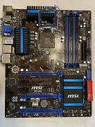 Msi Z87-g55 Motherboard Lga 1150 Intel - Most Reliable Board - Working Pull