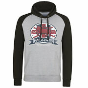 Officially Licensed Morris Motor Co. England Baseball Hoodie S-xxl Sizes
