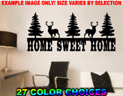 Home Sweet Home Buck Rustic Cabin Woods Wall Art Decal Sticker Country Style
