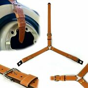 3 Point Spare Tire Rally Strap Adjustable Tie Down Fits Vintage Luxury Foreign F