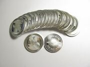 Silver Each 1 Troy Ounce Lot Of 20 Coins