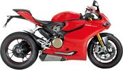 Akrapovic Slip-on Mufflers Exhaust Pipes For 2012-2015 Ducati Panigale