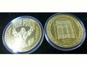 Thor Power - Loyality And Integrity Gold Plated Coins X 2 - Collectors Piece