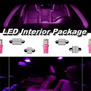 Fit Ford Expedition 2007 - 2017 Pink Led Interior Kit + License Lights