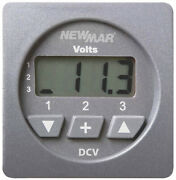 Newmar Dcv Dc Voltmeter Boat Marine Yacht Digital Instrument For Dc Systems New
