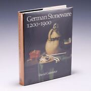 German Stoneware, 1200-1900 Archaeology And Cultural By David R. M. Gaimster
