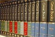 Britannica Great Books Of The Western World Deluxe Black Binding 54 Volumes