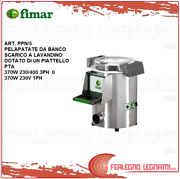 Potato Peeler 370w For Bench Exhaust System In Sink Engine 3ph Or 1ph Fimar Ppn