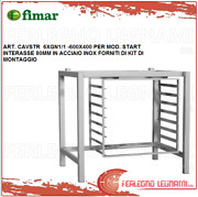 Support For Oven Stainless Steel + Kit Of Mounting For Mod Start Fimar Cavstr