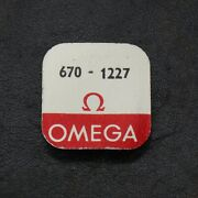 Omega Center Wheel And Pinion 670-1227 For Omega Watch Parts Repairs Spares