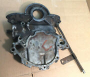 1965 1966 And Other Ford Mustang 289 Engine Timing Chain Cover And Tube C5oe-6059-a