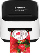 Brother Vc-500w Versatile Compact Color Label And Photo Printer With Wireless Ne