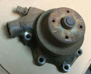 1946 - 1954 And Other Chevy Car Truck 6 Cyl. Water Pump And Pulley Core 899403