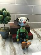 1930s Pete The Pup Figure Doll J L Kallus Jointed Wooden Children Toy