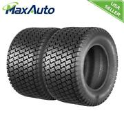 2 New Maxauto 24x12-12 4pr P332 Lawn And Garden Mower Tractor Turf Tires 4ply