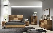 Esf Picasso Queen Bedroom Set Made In Italy By European Collection Total 5 Piece