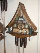 Hand Made Cuckoo Clock From Rothenburg Germany