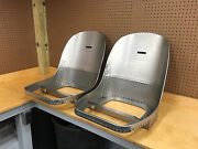 Jaguar E-type Xke 3.8 Fhc Coupe Seat Frames - New And Absolutely Perfect