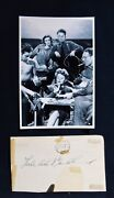 Tallulah Bankhead Lifeboatrare Autographed Paper And Photograph-diva-sex Kitten