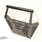 Rt Pro Rtp1002k Black Winch Mount Dx Front Bumper For Polaris 900 And 1000 Xp
