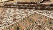 Early 1930and039s Antique Wool Pile Vegy Dye Hand-knotted Bunyan Area Rug 6andrsquo7andrdquox9andrsquo6andrdquo