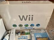 Nintendo Wii Sports Console 7 Game Bundle Mario And Sonic Olympic Winter Games