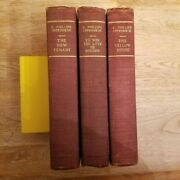 E. Phillips Oppenheim. 3 Volumes. P.f. Collier And Son. 1912. Collectible Set.