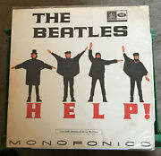 A Beautiful Original 1965 The Beatles Help Album Colombian Mono Vg++ To Nm-