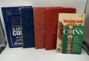 Lot Of 6 Vtg Us Coin List Books. 1960 1979 1981 1983 2006 Blue Dell Purse