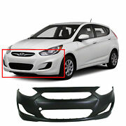 Primed Front Bumper Cover For 2012-2014 Hyundai Accent Sedan/hatchback Hy1000188
